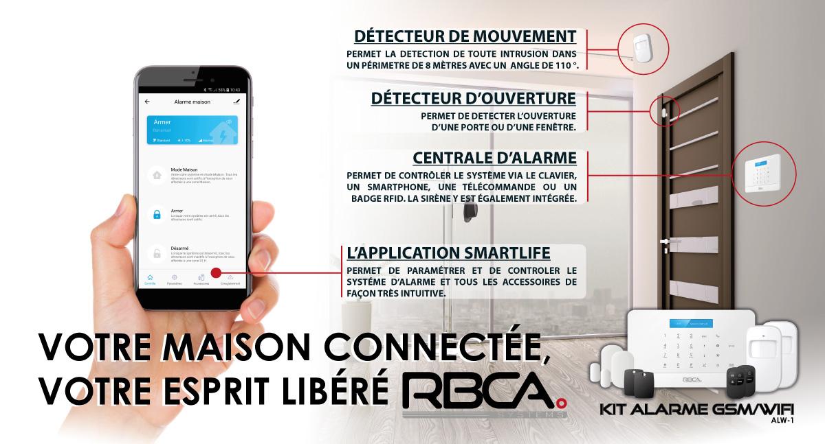 visuel RBCA kit alarme ALW-1-19