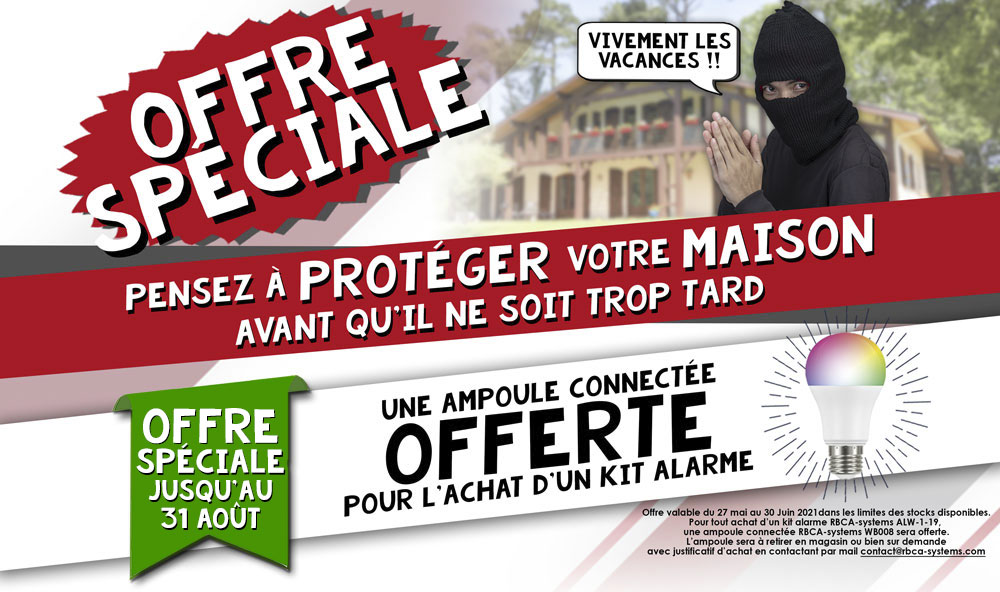 Promotion alarme Rbca-systems ete 2021