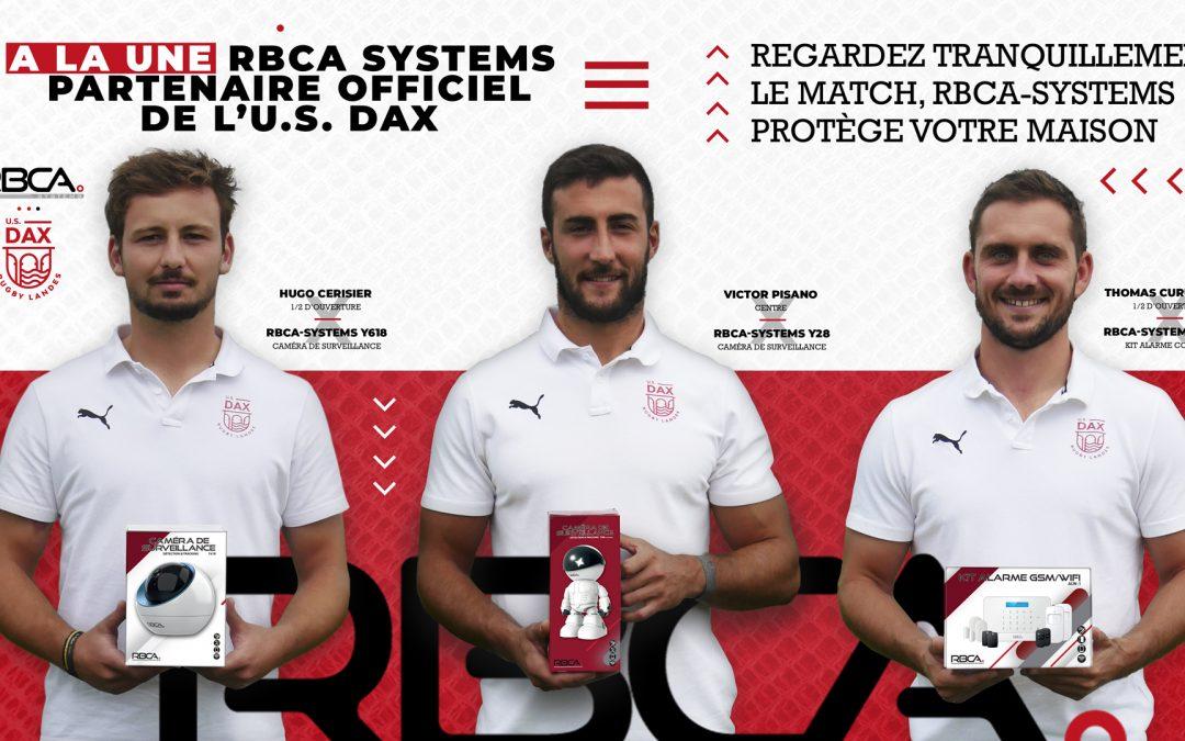 RBCA-systems partenaire officiel de l'US Dax